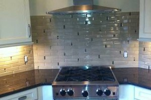 Photo #15: Kitchen & Bath Solutions. Backsplash tile + installation