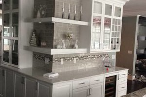 Photo #13: Kitchen & Bath Solutions. Backsplash tile + installation