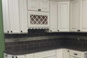 Photo #3: Kitchen & Bath Solutions. Backsplash tile + installation