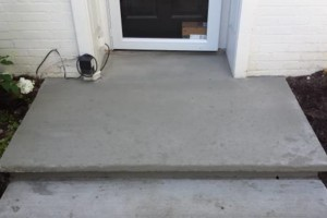 Photo #3: Concrete Stoop Refinishing - from $300 to $600 for big jobs