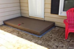 Photo #2: Concrete Stoop Refinishing - from $300 to $600 for big jobs