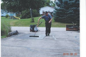 Photo #2: GULLY'S ASPHALT SEALING LLC