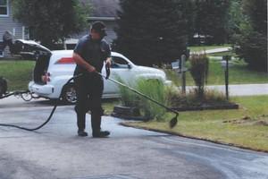 Photo #1: GULLY'S ASPHALT SEALING LLC