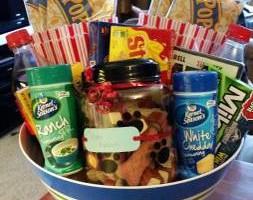Photo #1: Homemade Gift Baskets - movie night, pet, wine, baby...