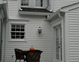 Photo #2: A&E Seamless Aluminum Gutters and Protection