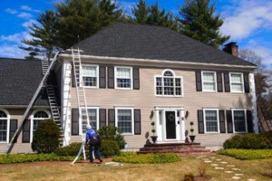 Photo #3: A&E Seamless Aluminum Gutters and Protection