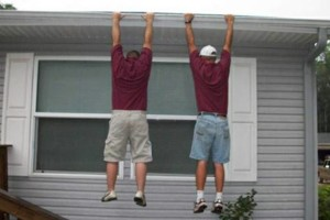 Photo #4: A&E Seamless Aluminum Gutters and Protection