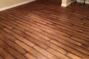 Photo #1: Wood / Laminate Flooring installation + Custom tile