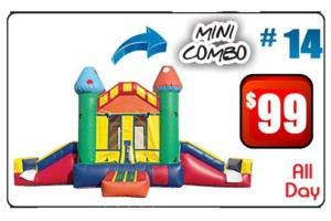 Photo #1: Ashley's Party Supplies. Bounce Houses