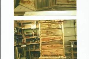 Photo #1: Woodworking & repair - rustic pine furniture