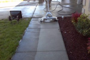 Photo #1: Pressure washing. TH Commercial Cleaning