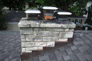 Photo #1: Chicagoland Fireplace and Chimney Restoration Co.