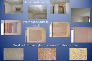Photo #1: DRYWALL REPAIR/PATCH/TEXTURE