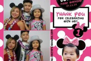 Photo #20: Photobooth Special - BEST GRAPHICS!! - Save $100