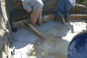 Photo #7: Affordable decorative & masonry/ concrete experts