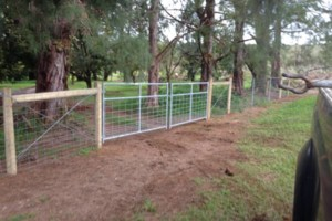 Photo #6: Critter custom fencing. Colby Costa