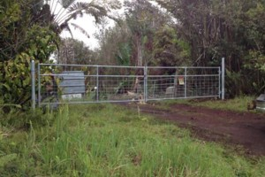 Photo #3: Critter custom fencing. Colby Costa