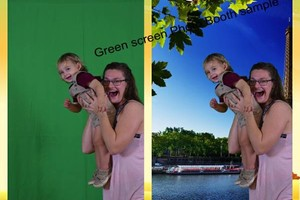 Photo #2: $300/2hrs Professional Photobooth Rental/Green...