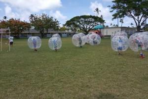 Photo #2: Da Kine Bubble Soccer