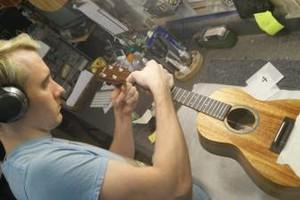 Photo #1: Pro Ukulele & Guitar Tech. setup/repair/electronics installations