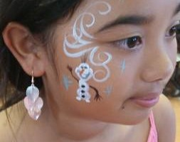 Photo #12: AWESOME FACE PAINT, henna, glitter tattoos!