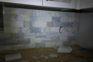 Photo #4: A to Z Handy Service. Female Tile Setters!