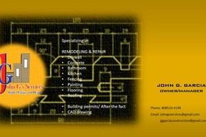 Photo #1: JOHN G'S SERVICES-BUILD & HANDYMAN