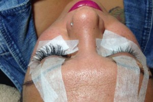 Photo #3: Individual extension lashes - full set $50/ fill $25