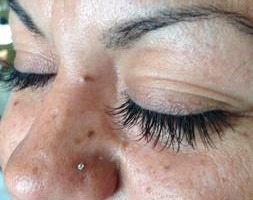 Photo #1: Individual extension lashes - full set $50/ fill $25