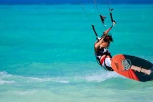 Photo #3: Kiteboard kitesurfing lessons Oahu. $200/2Hr