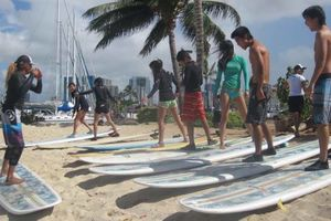 Photo #13: THE BEST PRIVATE SURF LESSON ART OF SURFING 'HAWAIIAN STYLE'