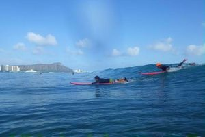 Photo #8: THE BEST PRIVATE SURF LESSON ART OF SURFING 'HAWAIIAN STYLE'