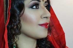 Photo #1: Top wedding makeup artist - indian bridal makeup & hair