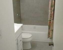 Photo #2: Ceramic tile installer - floors, tub surrounds, shower pans...