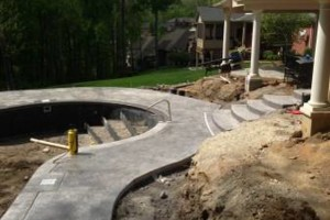 Photo #13: CONCRETE ALL TYPES - flatwork and stamped