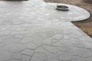 Photo #1: CONCRETE ALL TYPES - flatwork and stamped