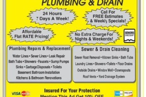Photo #1: Rooter PLUMBING AND DRAINS. GREAT RATES!!!