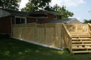 Photo #1: Quality Decks & Fencing - arbors, pergolas, trellis', decorative wells