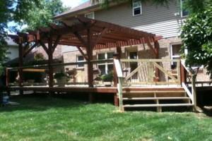 Photo #2: Quality Decks & Fencing - arbors, pergolas, trellis', decorative wells