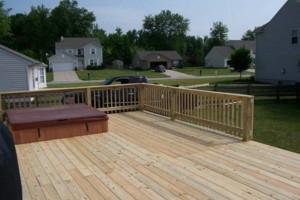Photo #4: Quality Decks & Fencing - arbors, pergolas, trellis', decorative wells