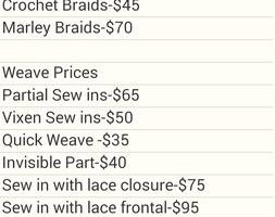 Photo #2: Wigs, Weaves, Crochet Braids
