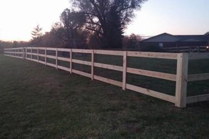 Photo #1: All pro fence. Fence Installation Professionals