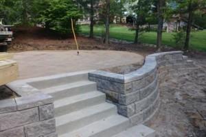 Photo #2: Retaining Walls, Brick Pavers, Stone Work