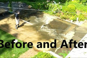 Photo #3: Concrete work wanted? Pressure washing and concrete resealing
