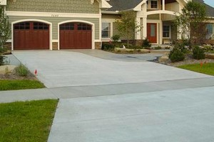 Photo #1: Concrete work wanted? Pressure washing and concrete resealing