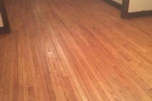 Photo #1: Morrison Hardwood floor refinishing and installation