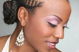 Photo #2: African hair styles... beautiful hair styles.