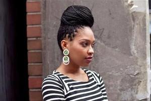 Photo #1: African hair styles... beautiful hair styles.