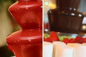 Photo #1: LoneStar Party Rentals - chocolate, chamoy fountains and more!