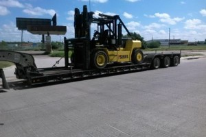 Photo #3: Jason Forklift Service. Equipment Hauling/Transportation
